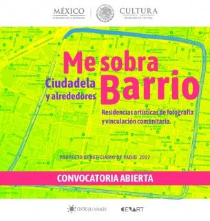 Me sobra barrio: Residencias artísticas de vinculación comunitaria en La Ciudadela y alrededores