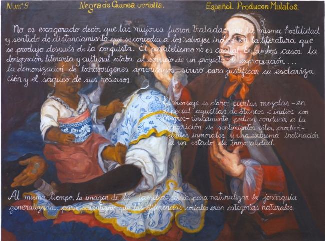 Sandra Gamarra. Producto (castas), 2015. Cortesía de la artista y Galería Juana de Aizpuru, Madrid