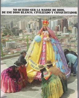 Mujeres Creando. La Virgen Barbie, 2010. Cortesía de Mujeres Creando — Cortesía del MUSAC