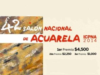 42 Salón Nacional de Acuarela. ICPNA 2014