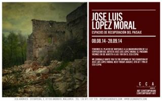 José Luis López Moral, Espacios de recuperación del paisaje