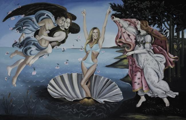 Cristóbal Tabares, La concha es una Pecten Maxius. Soy bióloga - Cortesía de La Fresh Gallery
