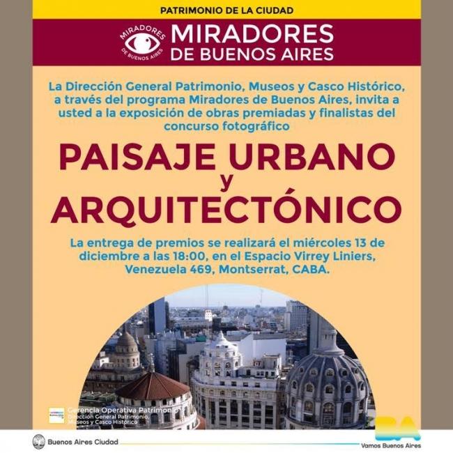 PAISAJE URBANO Y ARQUITECTÓNICO. Imagen cortesía Gobierno de la Ciudad Autónoma de Buenos Aires