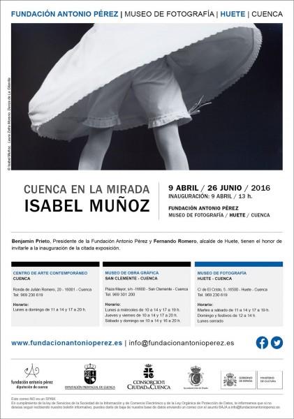 Cuenca en la mirada: Isabel Muñoz