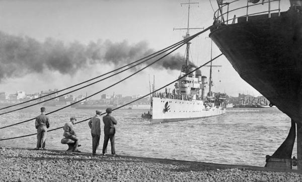 ©Bartolomé Ros y Ros. Puerto de Ceuta, Ca. 1929