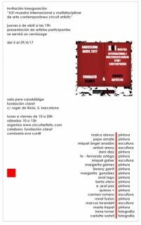 XIX Muestra Internacional y Multidisciplinar de Arte Contemporáneo circuit artístic