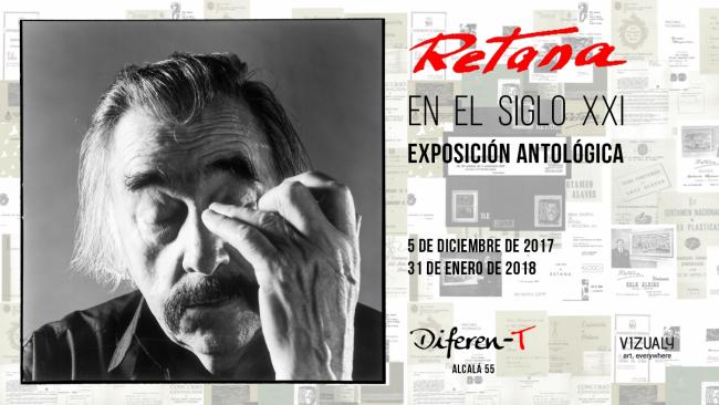 Retana - Exposición antológica, Diferen-T Madrid