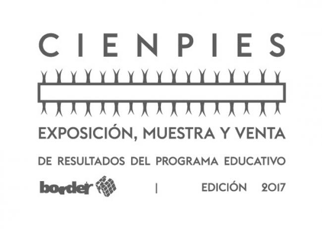 CIENPIES. EXPOSICIÓN Y VENTA DE RESULTADOS DE PROGRAMA EDUCATIVO. Imagen cortesía CCBORDER