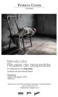 Marcela Lobo. Rituales de despedida