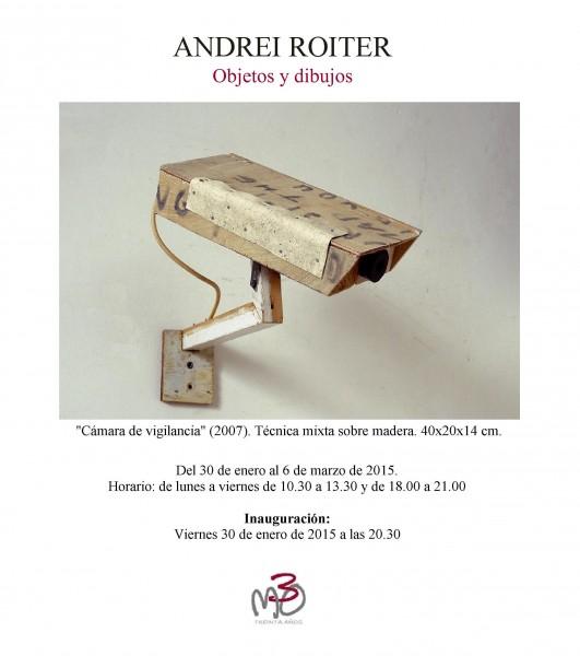 Andrei Roiter. Objetos y dibujos