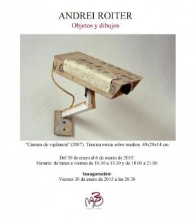 Ir al evento: 'Andrei Roiter. Dibujos y objetos'. Exposición de Pintura en Manuel Ojeda Las Palmas de Gran Canaria, Las Palmas, España