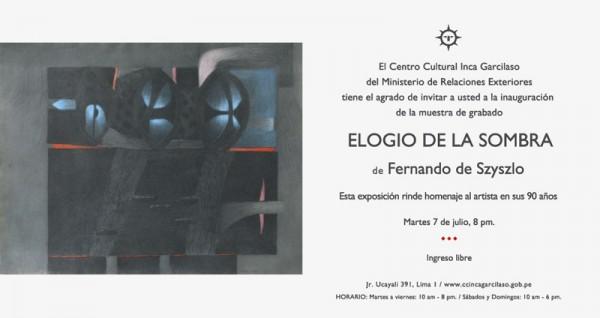 Elogio De La Sombra Exposici N Jul 2015 Arteinformado
