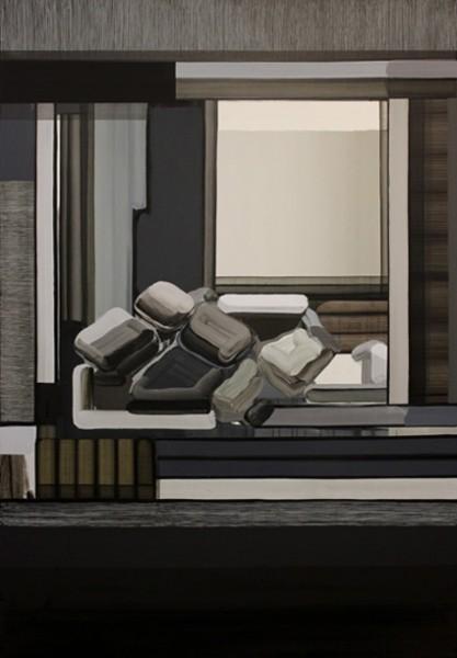 Jorge Julve, 3389. 2016, Acrilico sobre tela. 195x 134 cm.