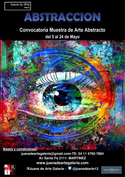 ABSTRACCION, Convocatoria muestra arte abstracto