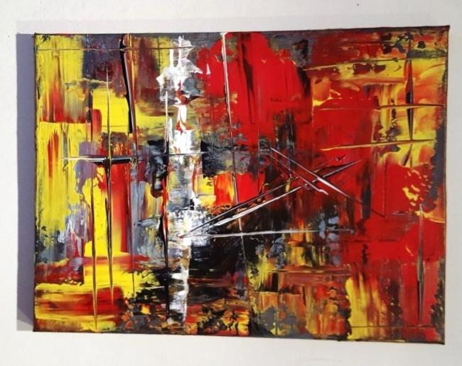 abstraccion | Ir al evento: 'Charla con un Artista'. Exposición de Pintura en Le Petit Atelier / Lleida, España