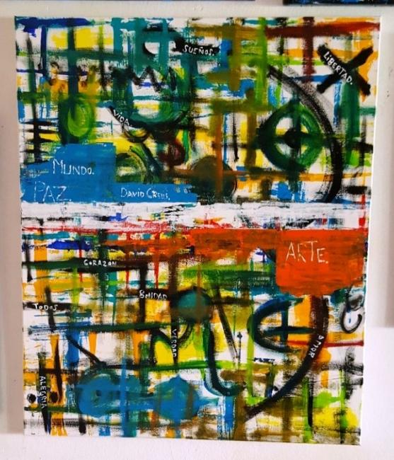 abstraccio | Ir al evento: 'Charla con un Artista'. Exposición de Pintura en Le Petit Atelier / Lleida, España