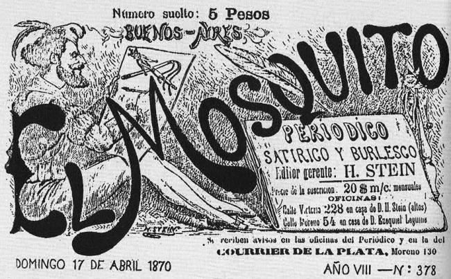 EL MOSQUITO Y DON QUIJOTE: PILARES GRÁFICOS DE LA ARGENTINA. Imagen cortesía Museo del Dibujo