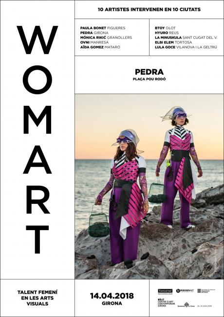 Cartel de Womart | Ir al evento: 'Womart'. Exposición en 10 ciudades de Cataluña / Barcelona, España