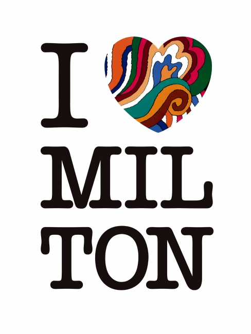 I love Milton — Imagen cortesía de MadridGráfica18