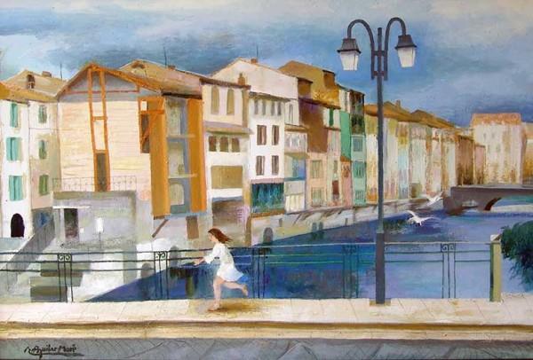 Ramon Aguilar Moré, França, 1980 | Ir al evento: 'Aguilar Moré. 90 aniversari: Mirant enrere - obres des del 1952 al 2014'. Exposición de Pintura en Sala Rusiñol / Sant Cugat del Vallès, Barcelona, España