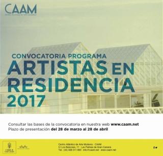 Programa Artistas en residencia 2017