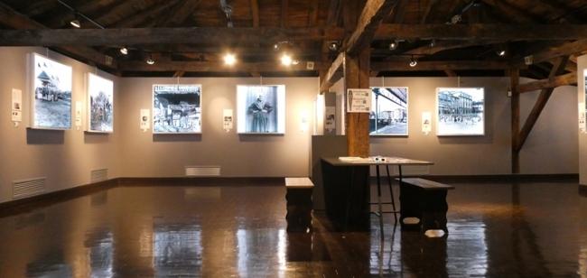 Vista general | Ir al evento: 'Estereoskopiak 16+16'. Exposición de Arte sonoro, Artes gráficas, Fotografía en Museo Euskal Herria - Euskal Herria Museoa / Gernika-Lumo, Vizcaya, España