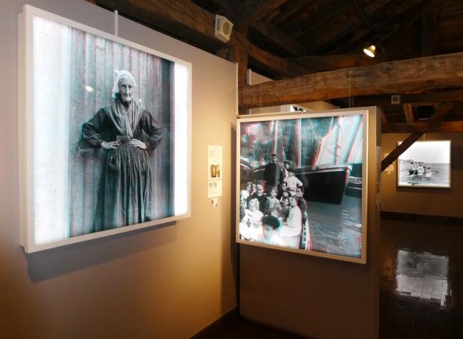 Imagen 1 | Ir al evento: 'Estereoskopiak 16+16'. Exposición de Arte sonoro, Artes gráficas, Fotografía en Museo Euskal Herria - Euskal Herria Museoa / Gernika-Lumo, Vizcaya, España