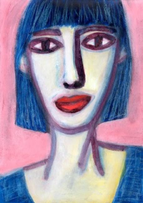 © Óscar Mariné. Ella es un arcoiris — Cortesía de la Galería Blanca Berlín