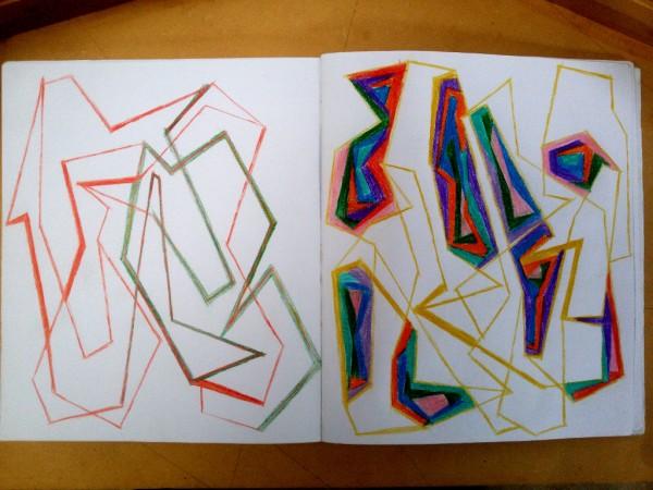 Dibujo Cuaderno | Ir al evento: 'Venta de Taller, Últimos Dibujos'. Subasta de Escultura, Pintura en Hospedería del Errante / Valparaiso, Chile