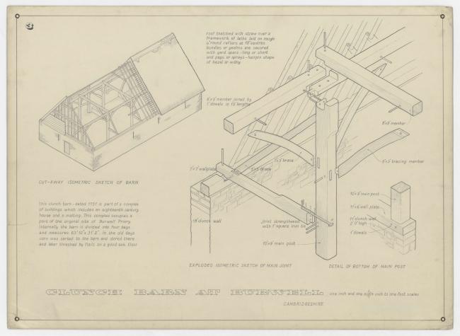Barn Drawings (1958) © The Norman Foster Foundation – Cortesía de Espacio Fundación Telefónica | Ir al evento: 'Norman Foster: Futuros Comunes'. Exposición en Espacio Fundación Telefónica / Madrid, España