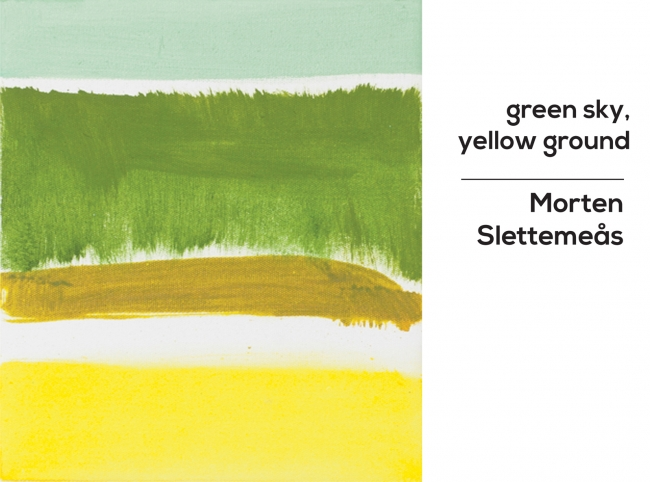 GREEN SKY, YELLOW GROUND