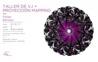 Taller de VJ + Proyección mapping