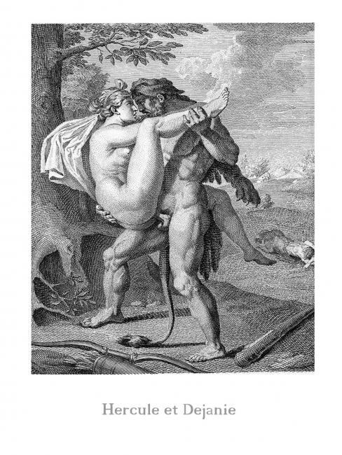 Hercule y Dejanire