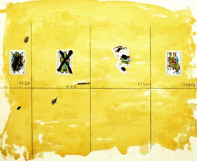 Antoni Tàpies. Cartes per a la Teresa , 1974. © Comissió Tàpies, VEGAP De la fotografia: © Lluís Bover, 2017 – Cortesía de la Fundació Antoni Tàpies