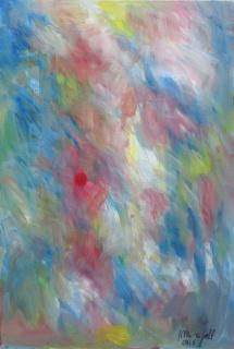 Jordi Maragall, S/T, óleo sobre tela, 81 × 54 cm. – Cortesía de la Sala Parés
