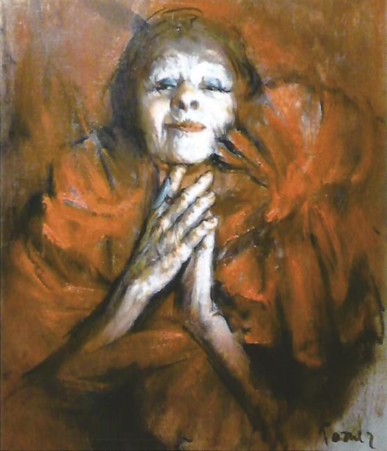 Pepe Forner, Cocotte, 46x38 cm. – Cortesía de Aitana galería de arte