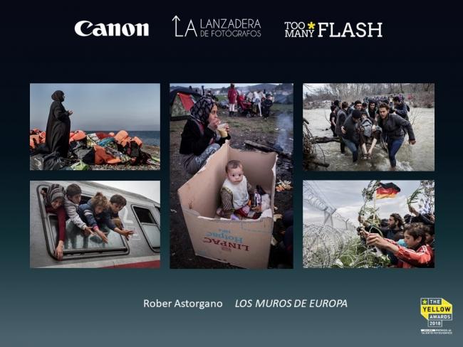 Rober Astorgano, Los muros de Europa [1º Premio categoría de fotoperiodismo] — Cortesía de Too Many Flash