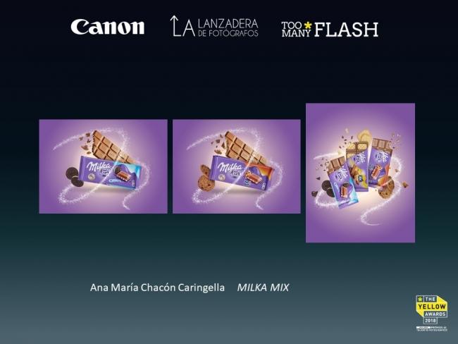 Ana María Chacón Caringella, Milka Mix [1º Premio categoría fotografía publicitaria] — Cortesía de Too Many Flash