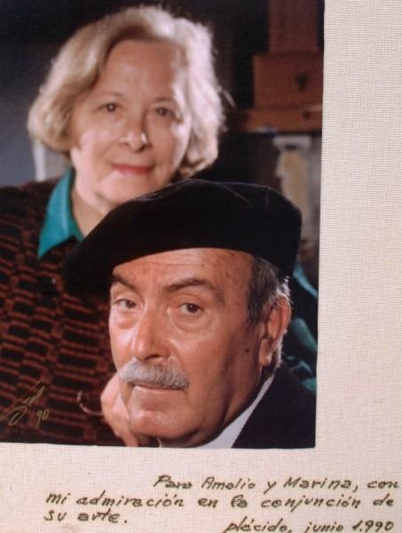 Amalio y Marina, un matrimonio de artistas