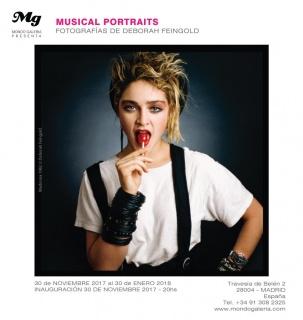 Deborah Feingold. Musical Portraits – Cortesía de Mondo Galería