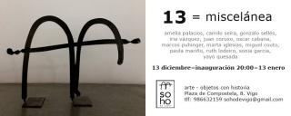 13 = miscelánea