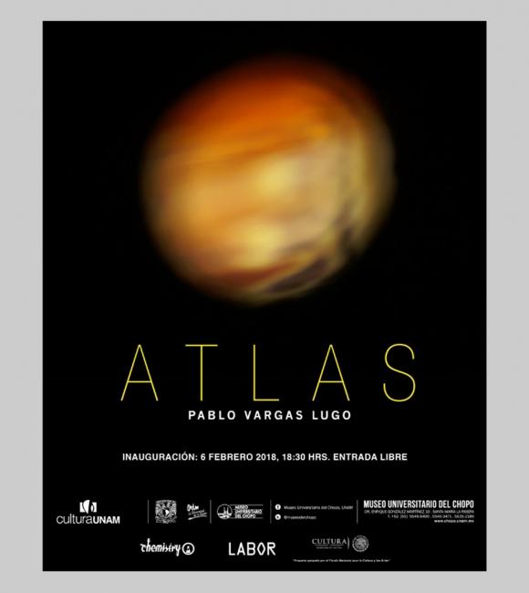 ATLAS. Imagen cortesía Museo Universitario del Chopo
