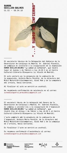 Ramón Guillen-Balmes, ...y subid al infierno | Ir al evento: '...y subid al infierno'. Exposición en Centre Cultural Blanquerna / Madrid, España