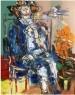 """La Novia"""" Medidas: 0,65 x 0,50 Mts. Técnica: Oleo sobre Tela. Año: 1974. Imagen cortesía Arte privado galería"""