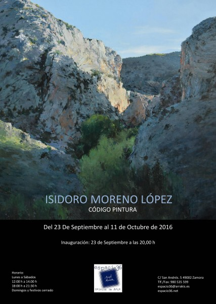 Isidoro Moreno Lopez, Código pintura