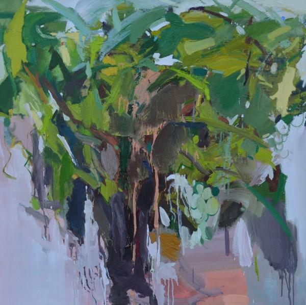 Isidoro Moreno Lopez, Parra. Óleo sobre lienzo. 100x100cm.