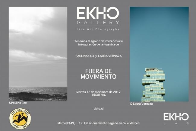 FUERA DE MOVIMIENTO. imagen cortesía EKHO Gallery