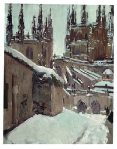 Joaquín Sorolla. La Catedral del Burgos. 1911. Museo Sorolla