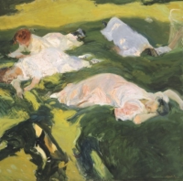 Joaquín Sorolla. La siesta. 1911. Museo Sorolla