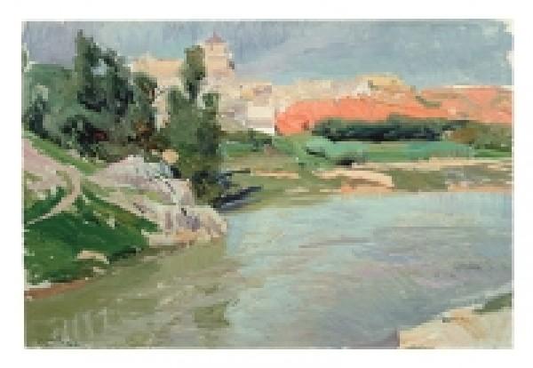 Joaquín Sorolla. Las Covachuelas, Toledo. 1906. Museo Sorolla